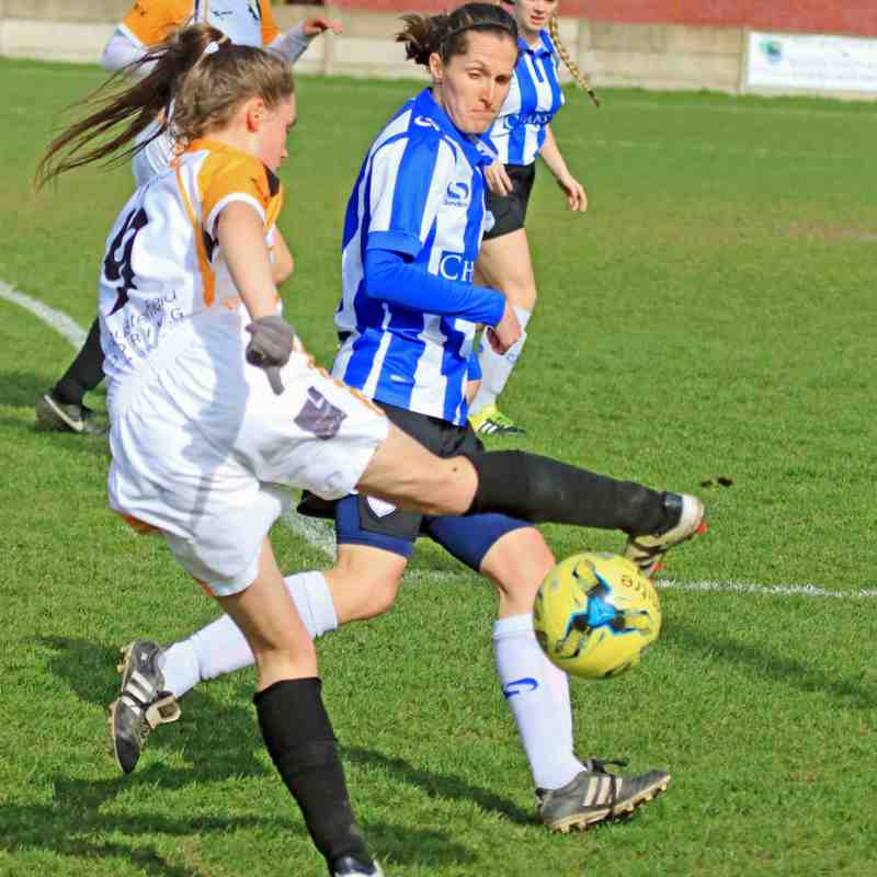 OSSETT ALBION LADIES V SHEFFIELD WEDNESDAY LADIES