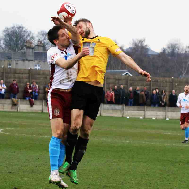 OSSETT ALBION V SOUTH SHIELDS