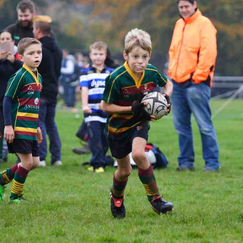 2016-10-30 - U9s vs Thornbury