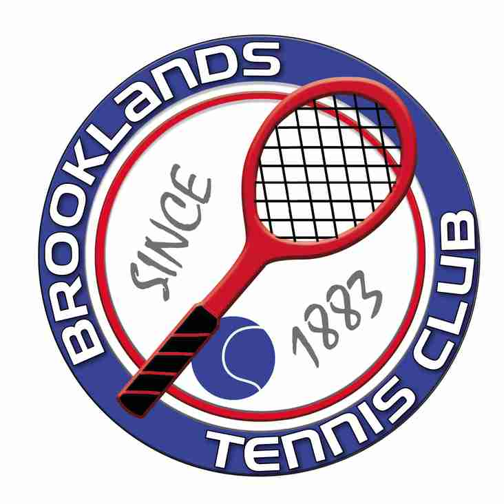 NEW BROOKLANDS TENNIS CLUB ONLINE KIT SHOP NOW OPEN!!