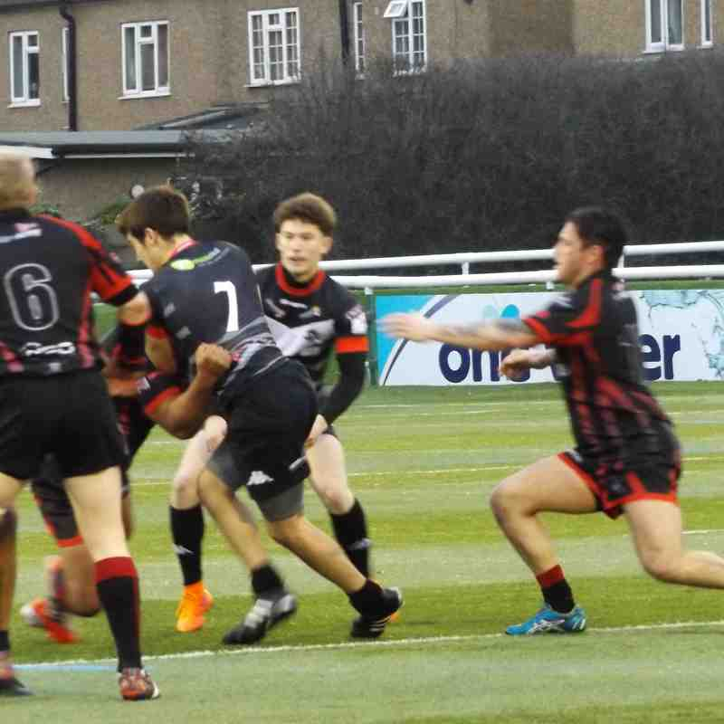 London Broncos 52 Army 8