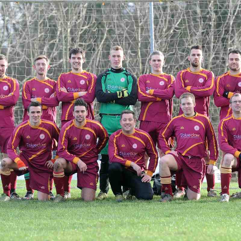 1st XI v Old Collegians - 10th January 2015