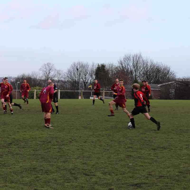 1st XI v Huddersfield YMCA - 24th January 2015