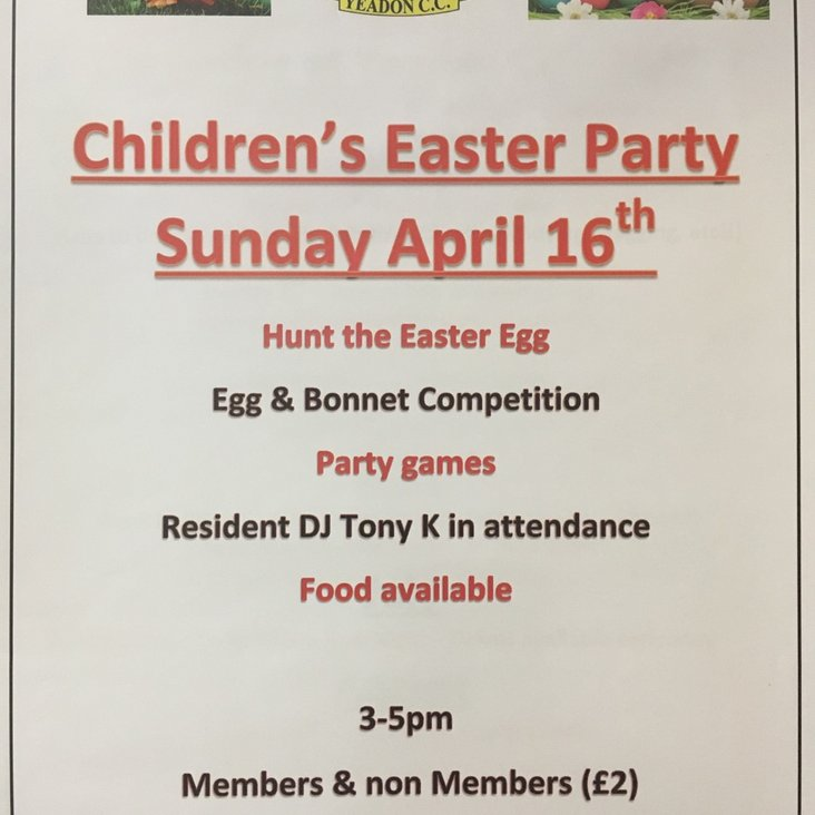 CHILDREN&#039;S EASTER PARTY<