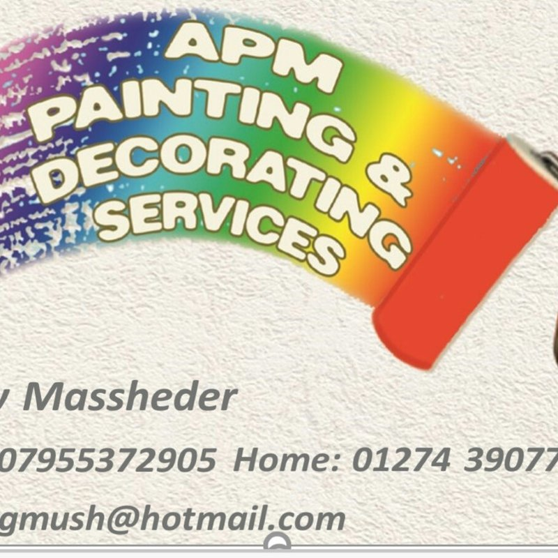 APM Painting and Decorating Services sponsor Under 11s and 13s playing shirts.