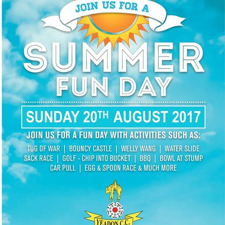 YEADON CC FAMILY FUN DAY<