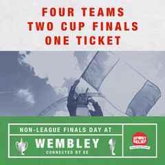 Non-League Finals Day - Sunday 22 May, Wembley Stadium