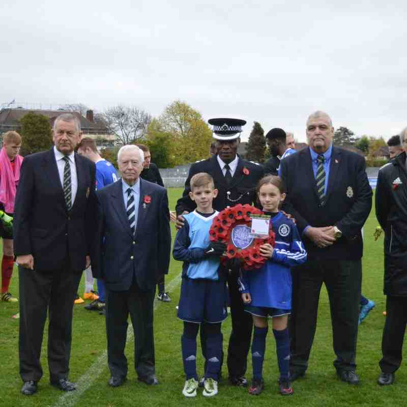 MPYFC in remembrance - v Hendon FC