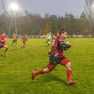 First Half Display Sets Up Win