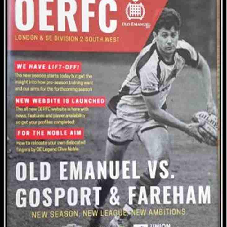 Old Emanuel vs Gosport 1st XV - Match Report & highlights
