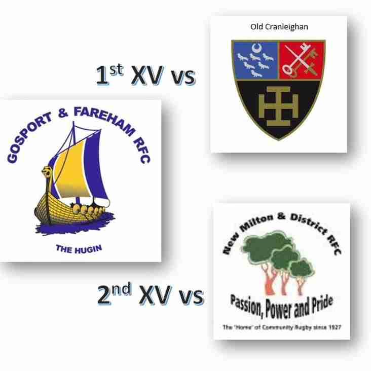 27th October - 1st & 2nds Both at Home