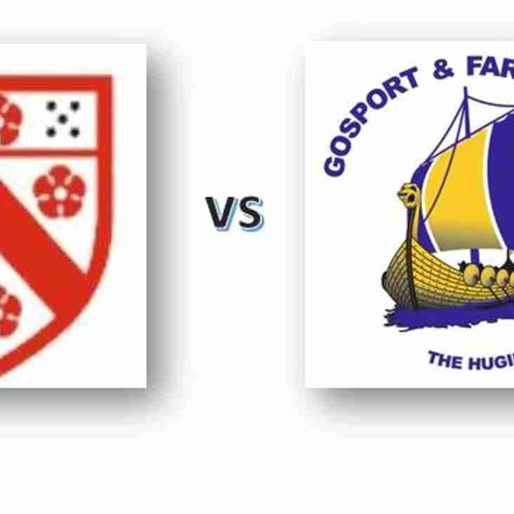 Old Alleynian vs Gosport & Fareham