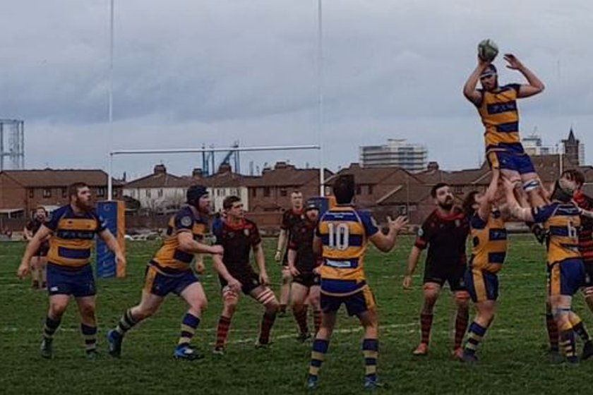 Gosport Go Close Against Twickenham