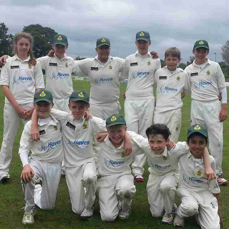 Barnt Green U13  progress to National Finals next week