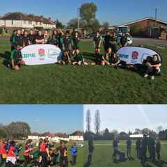 Girls rugby at Aston
