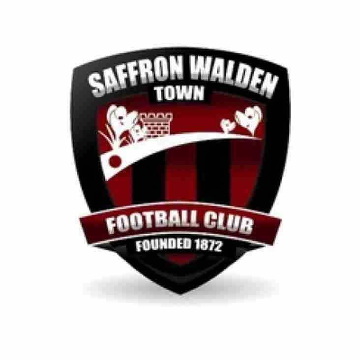 Wanderers look to end poor run at Saffron Walden this afternoon (kick off 3pm)