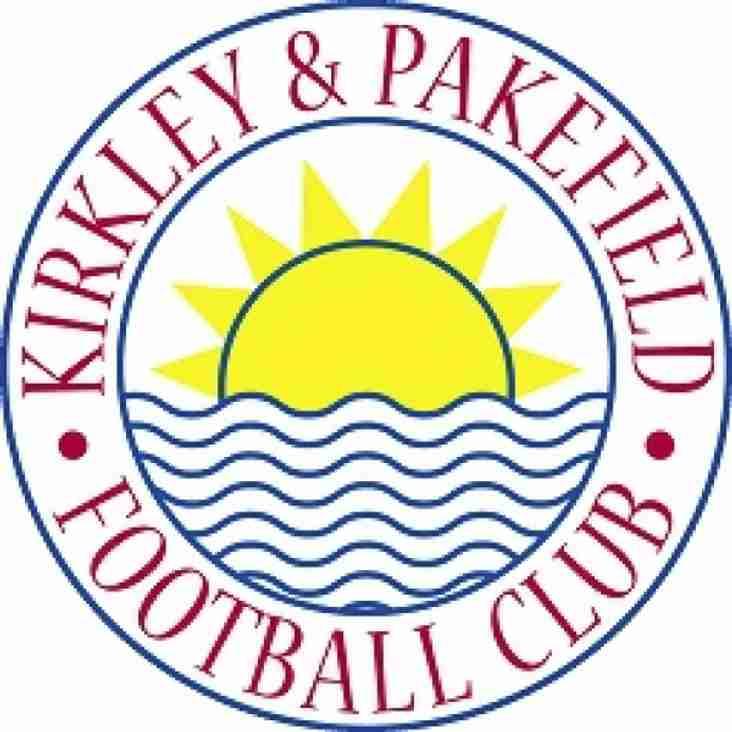 Match off on Saturday - Kirkley & Pakefield fixture to be rearranged.