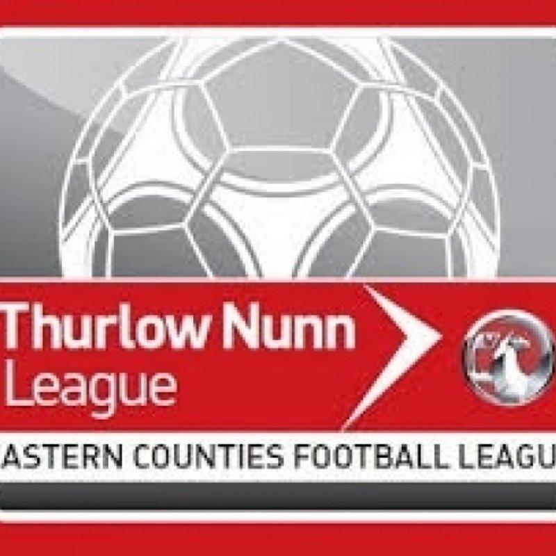 Wanderers host Long Melford at Doucy tomorrow (kick off 3pm)