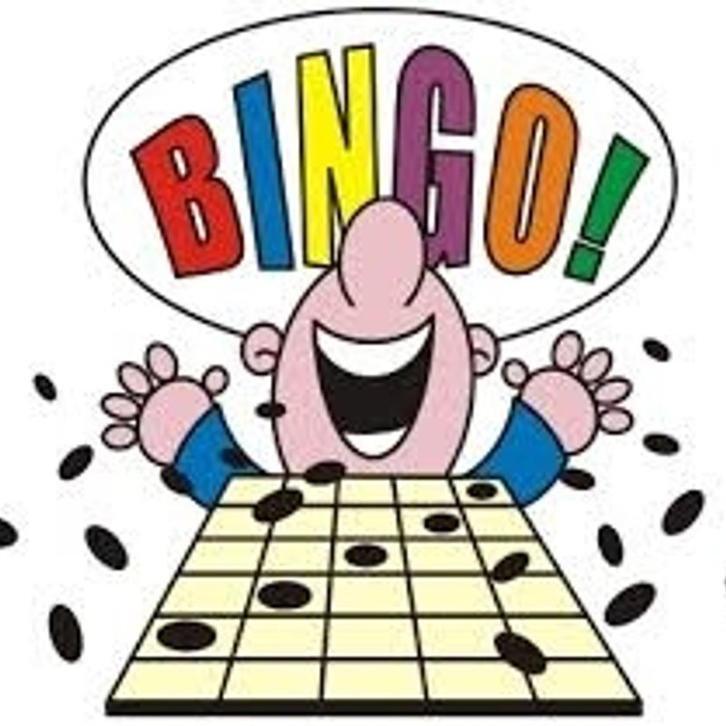 Bingo - returns to the Doucy on Friday 16th March 2018