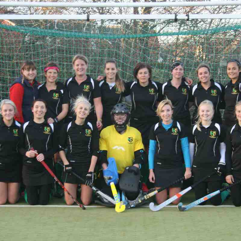 Ladies' 2s v Reading 2As 3/12/2016