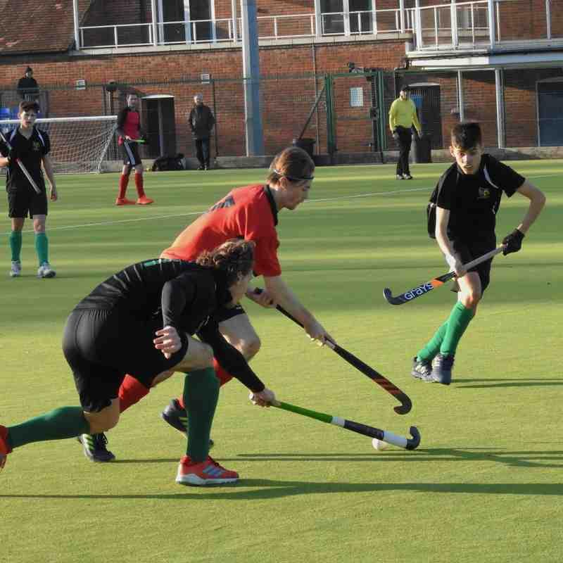 Mens 1st v Aylesbury nov 18