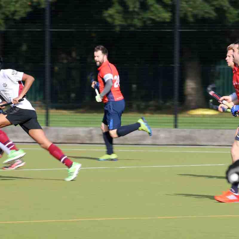 Men's 2s XI vs University of Kent 30.09.17