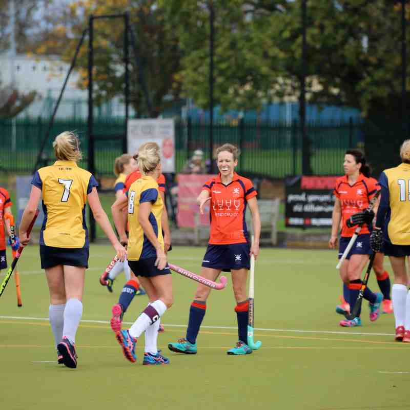 BEHC Ladies 1s vs Old Willies 04.11.17