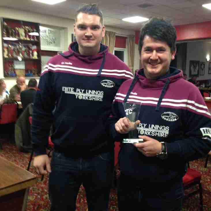 Thomas Codman - Yorkshire Men's League Division 4 Coach of the Year