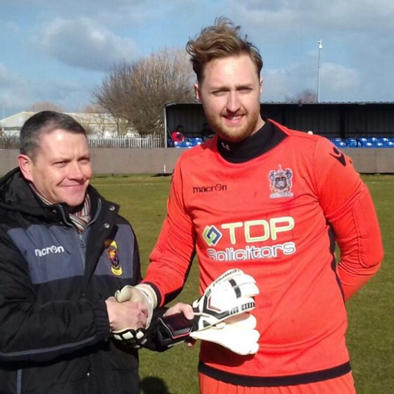 Goalkeeper Of The Month Presentation