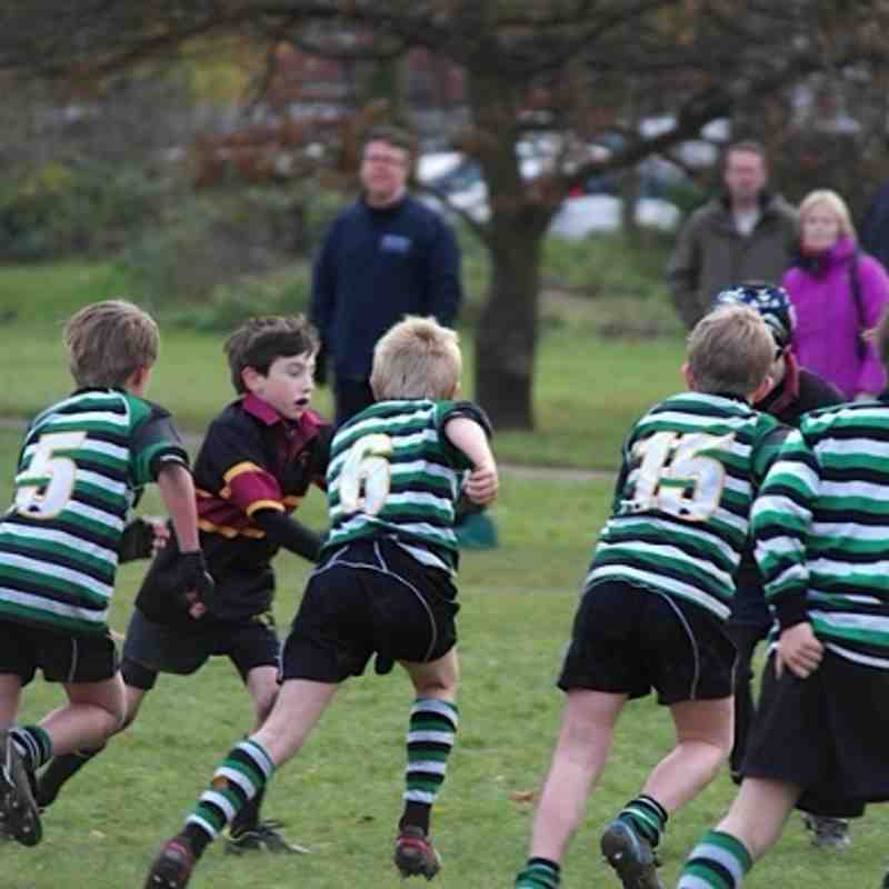 Under 9s High Wycombe Dec 2013