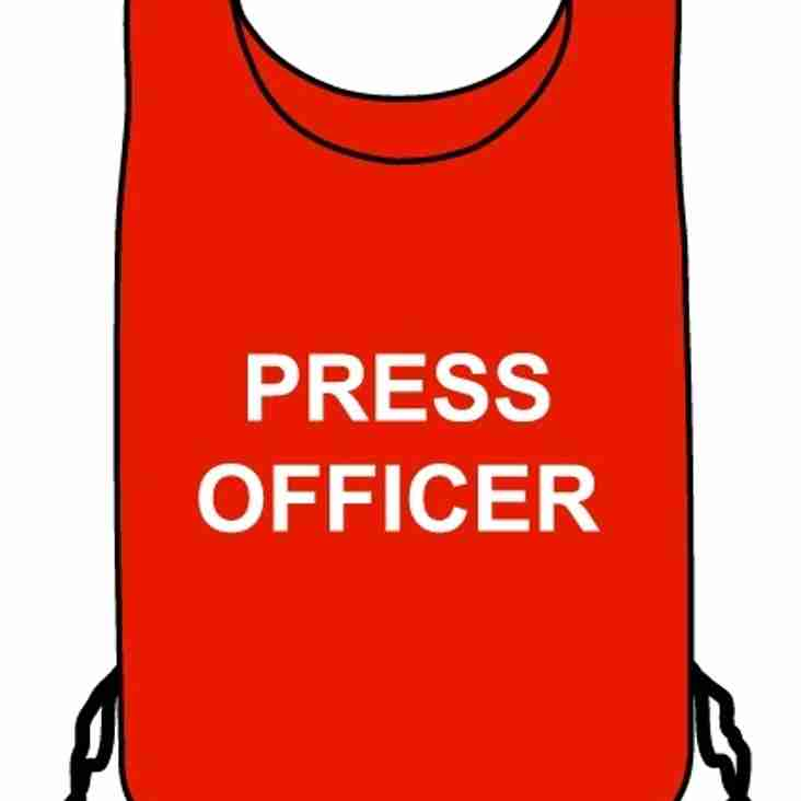 Press Officer required