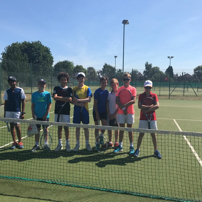 Another Cheshire final for U12A boys!