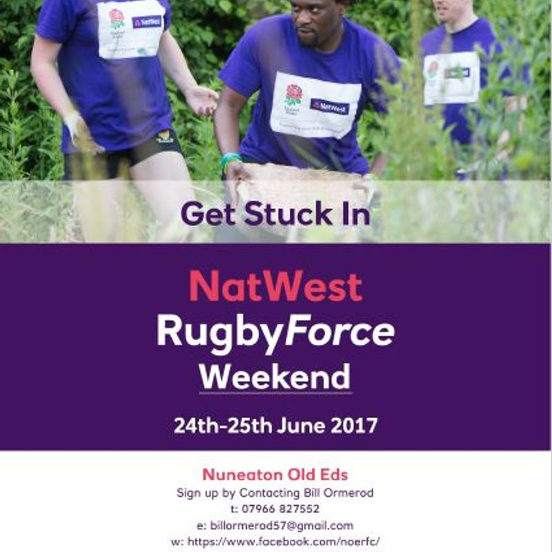 NatWest RugbyForce 2017