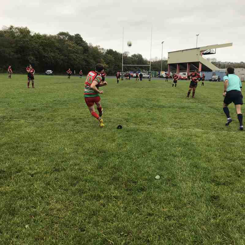 2nds Vs Bonymaen 13th Oct 2018