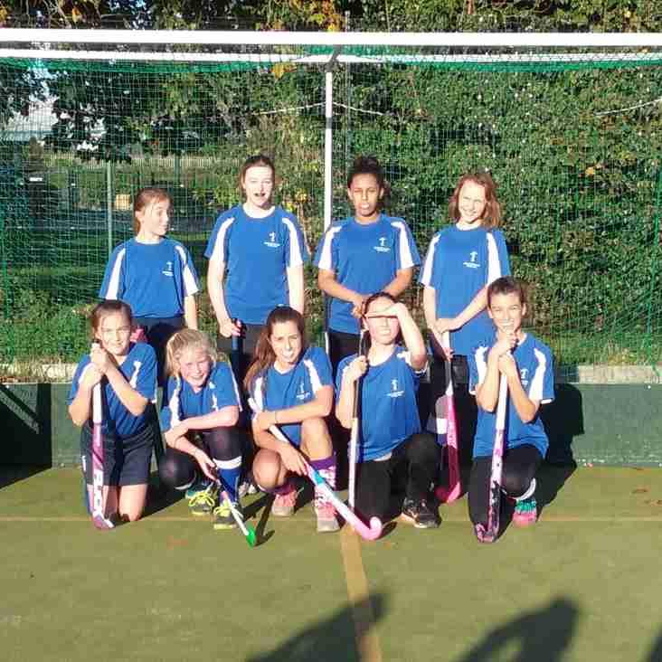 U14 Girls team debut
