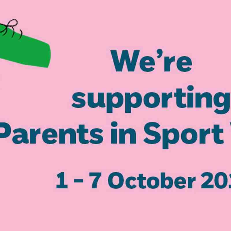 Hockey Generations: Parents In Sport Week 2018