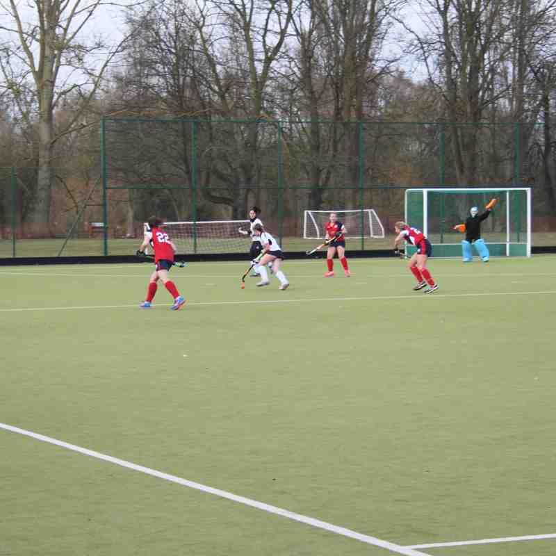 Cambridge City 2s VS Lowestoft 1s 28Jan17