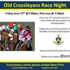 Race Night - Friday 17th June