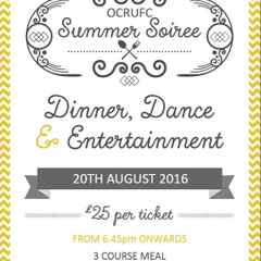 Summer Soiree - Saturday 20th August