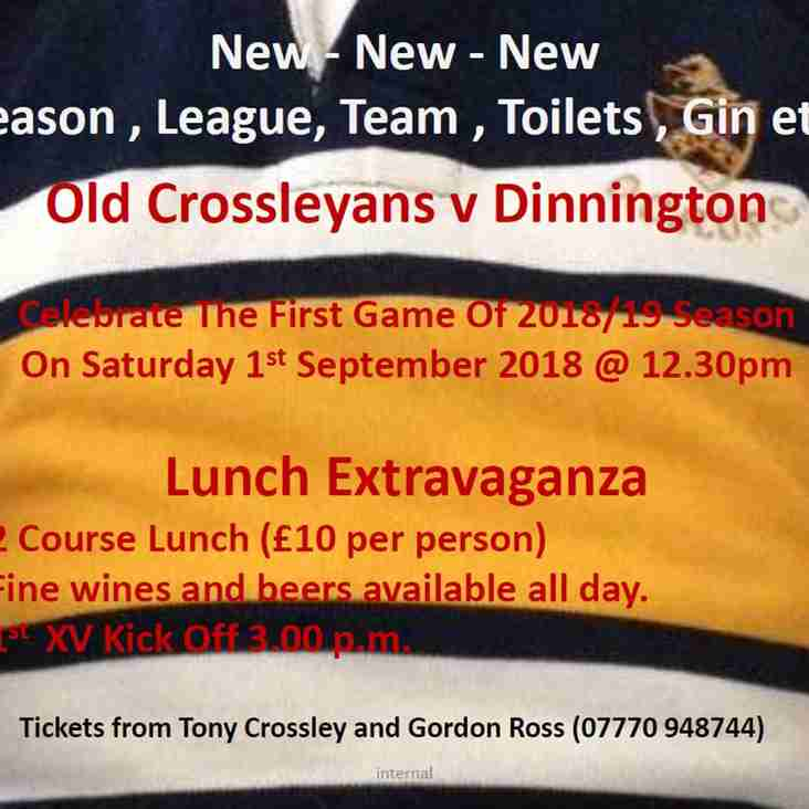 Dinnington Pre-Match Lunch - 1st Sept #pie