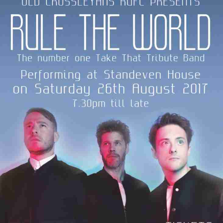 Take That Tribute Band - Sat 26th August