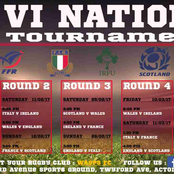 6 Nations Tournament