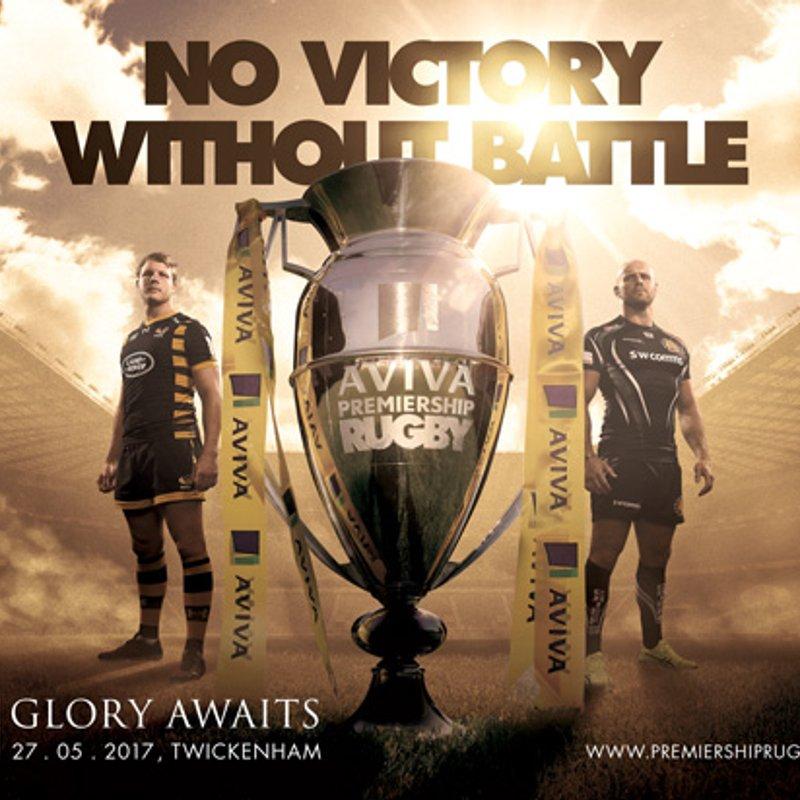 Aviva Premiership Final live at Wasps FC