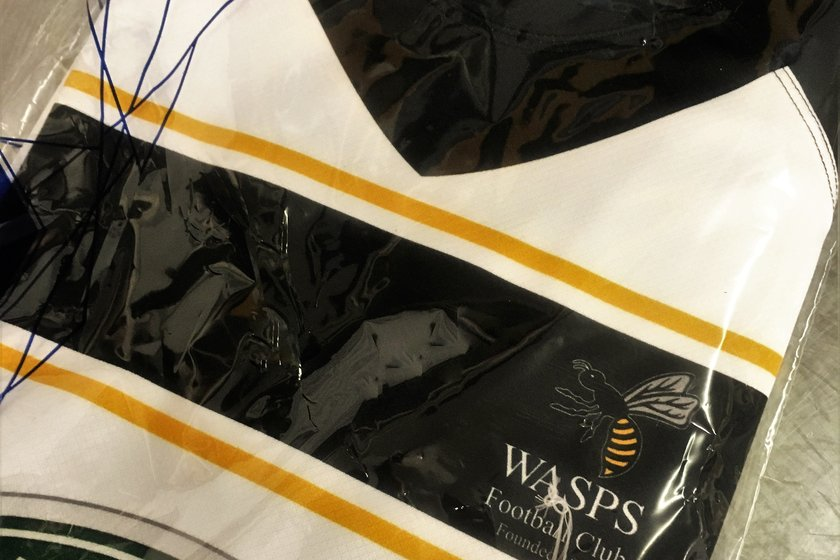 Wasps FC Supporter Jersey's now in stock!