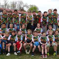 Both Newark U10 Squads have a strong performance in 3 way Stamford/Peterborough fixture
