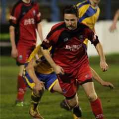 Farsley away from player/ coach Wilesy