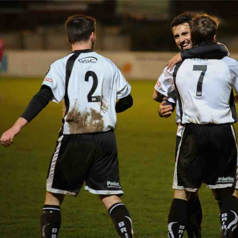 Bamber Bridge 5-0 Harrogate Railway 02/02/2016