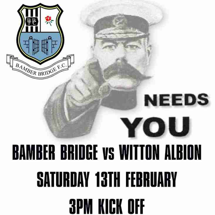 Bamber Bridge Needs Your Support