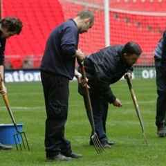 Pitch Repair Team Required Sunday Morning!