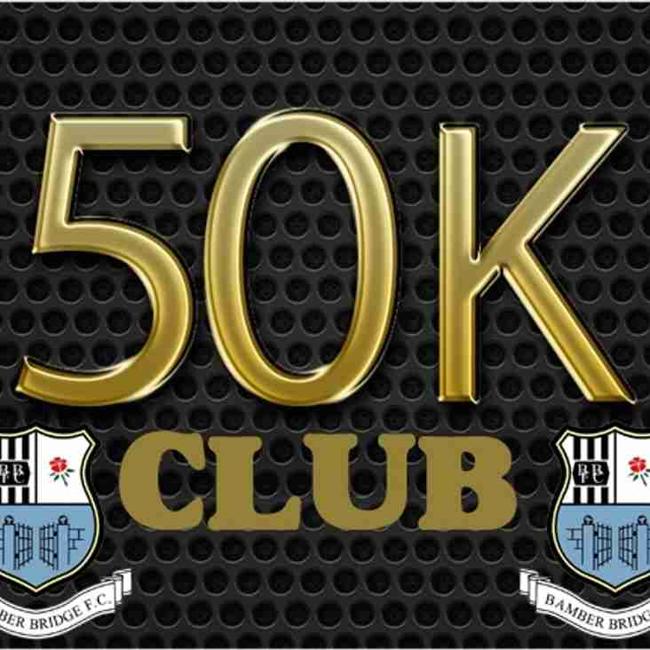 50k CLUB – SPONSORS LOUNGE - EASTER MONDAY